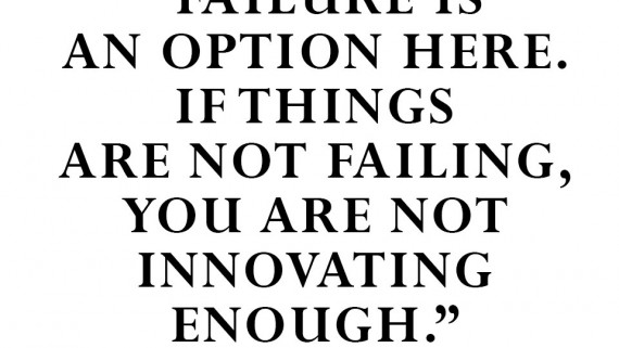 Failure is an option here