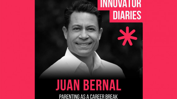Juan Bernal, Stay At Home Dad, Parenting, Innovator Diaries, Australia podcast, podcast episode, innovators