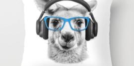 Kangaroo, funny kangaroo, throw pillow, revolution Australia, Aussie design, TIPS podcast, Chester Elton, Australia animals, Australia wildlife